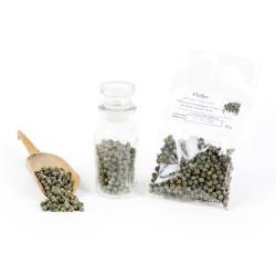 Pfeffer grün ganz, grüner Pfeffer ganz, Malabar Pfeffer Indien, Gourmetpfeffer, Premiumpfeffer luftgetrocknet, Naturgewürz, 2...