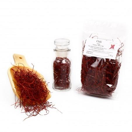 Chili Fäden, Chili Deko, Chilifäden, Chillifäden, Red Chili Hair, Strings, 20g