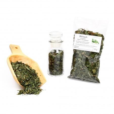 Bärlauch, Bärlauchblätter, wilder Knoblauch, Knoblauchspinat, intensiv, 15 g