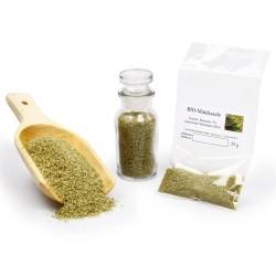 BIO Matchasalz mit Matcha Tee aus Japan und 5% Meersalz naturbelassen | unbehandelt ohne Zusätze vegan glutenfrei | 25g 42605...