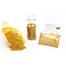 Curry Banane Mango, Currypulver, Curry Gewürz, Curry Gewürzmischung, Currygewürz, Curry-Vegan, asiatische Gewürze, 25g 426058...