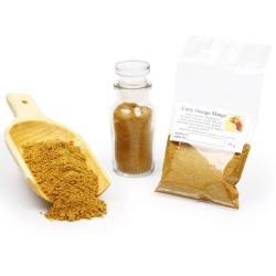Curry Orange Mango, Currypulver, Curry Gewürz, Curry Gewürzmischung, Currygewürz, Curry-Vegan, asiatische Gewürze, 25g 426058...