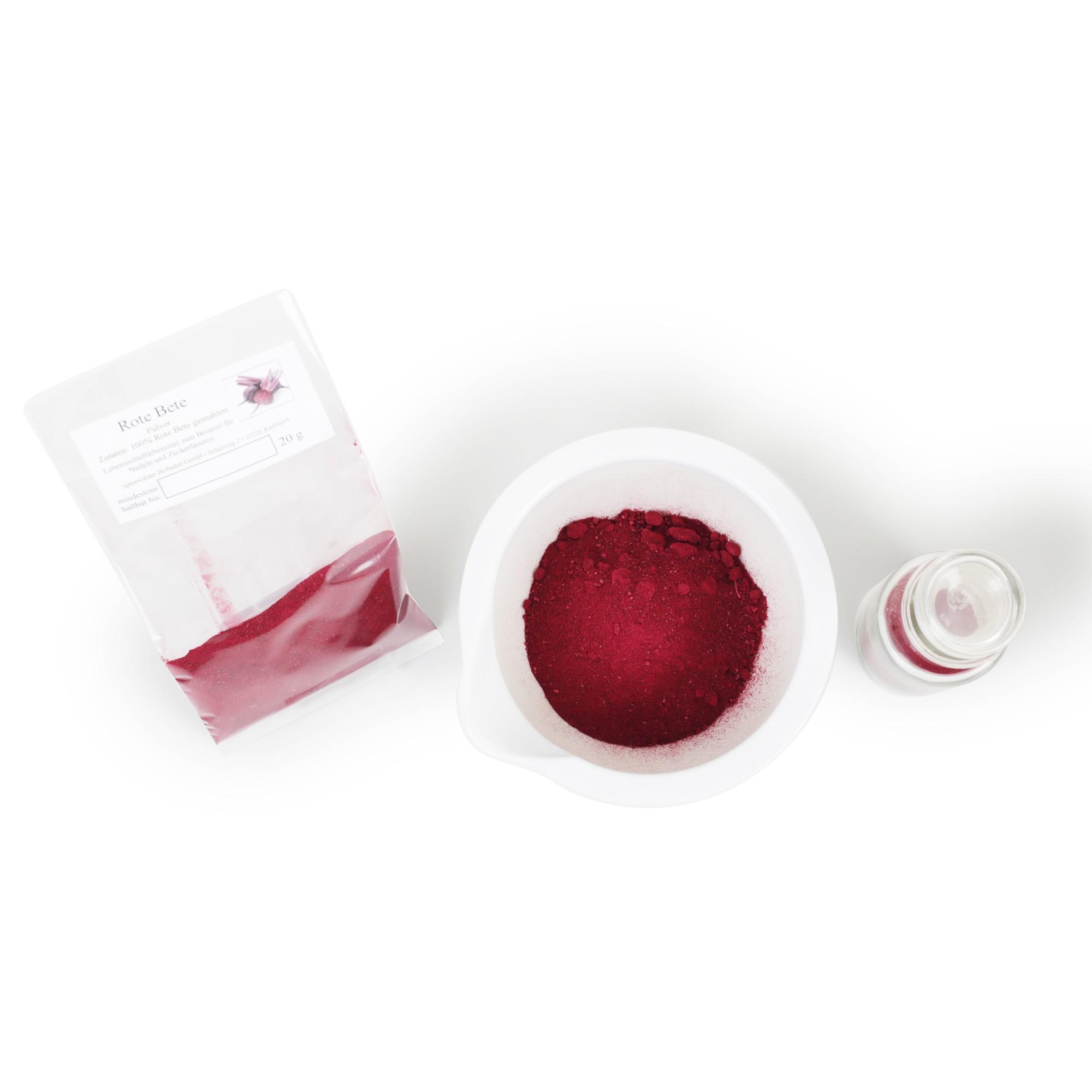 Rote Beete Pulver Rote Bete Pulver 20g Natürliche