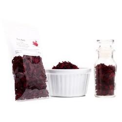 Rote Bete in Würfel, Rote Bete Streifen, Für Suppen, Marinaden und als Knabberspaß für Nager, 30g 4260588475379 Trockengemüse