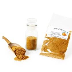 Gelbes Currysalz, Curry-Pulver, Curry Salz, Curry-Indisch, Meersalz Curry-Gewürzmischung, Currygewürz, Curry-Vegan, 30g 42605...