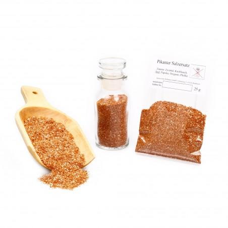 Pikanter Salzersatz, Gewürzmischung ohne Salz, Kräutermischung Gewürz, 25g