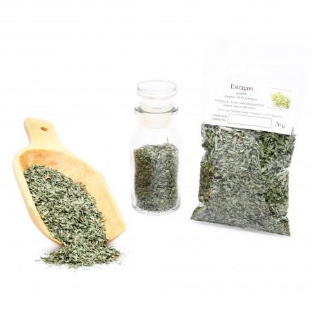 Estragon gerebelt, Estragonblätter, Estragon Gewürz, Tarragon Leaves, 20g