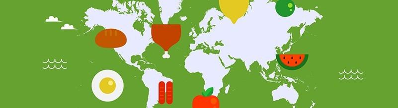 Kulinarische Regionen